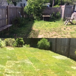 Superbe Photo Of Garden Guys   East Lyme, CT, United States. Sod Install Before