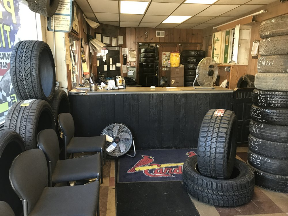 Phil's Tire Shop: 9520 S Broadway, Saint Louis, MO