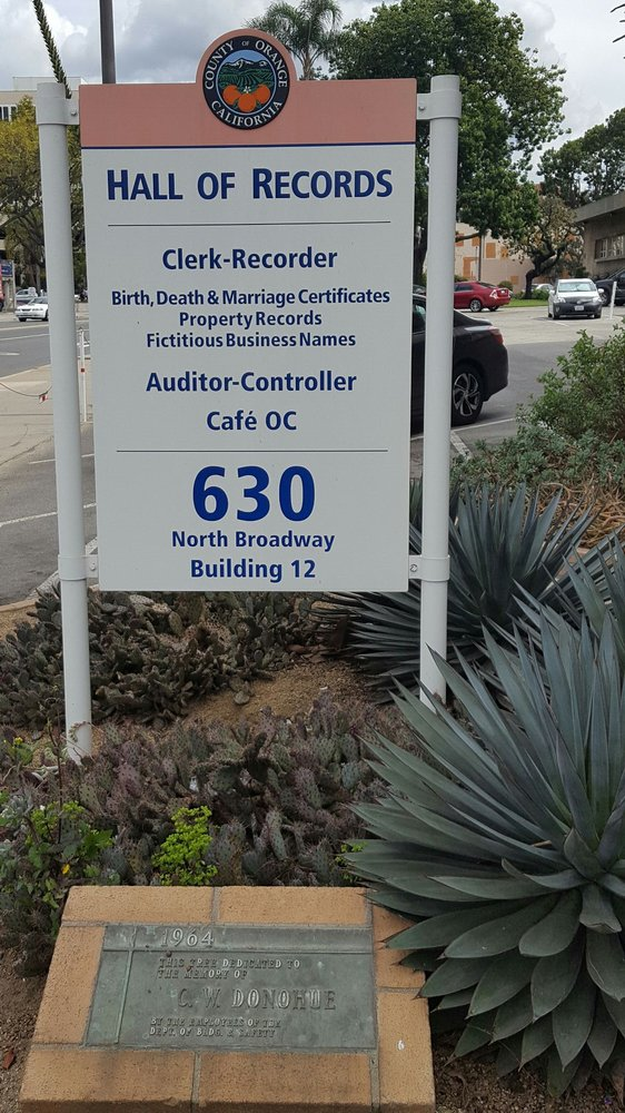 Oc Clerk Recorder Is At 630 N Broadway Building 12 Yelp