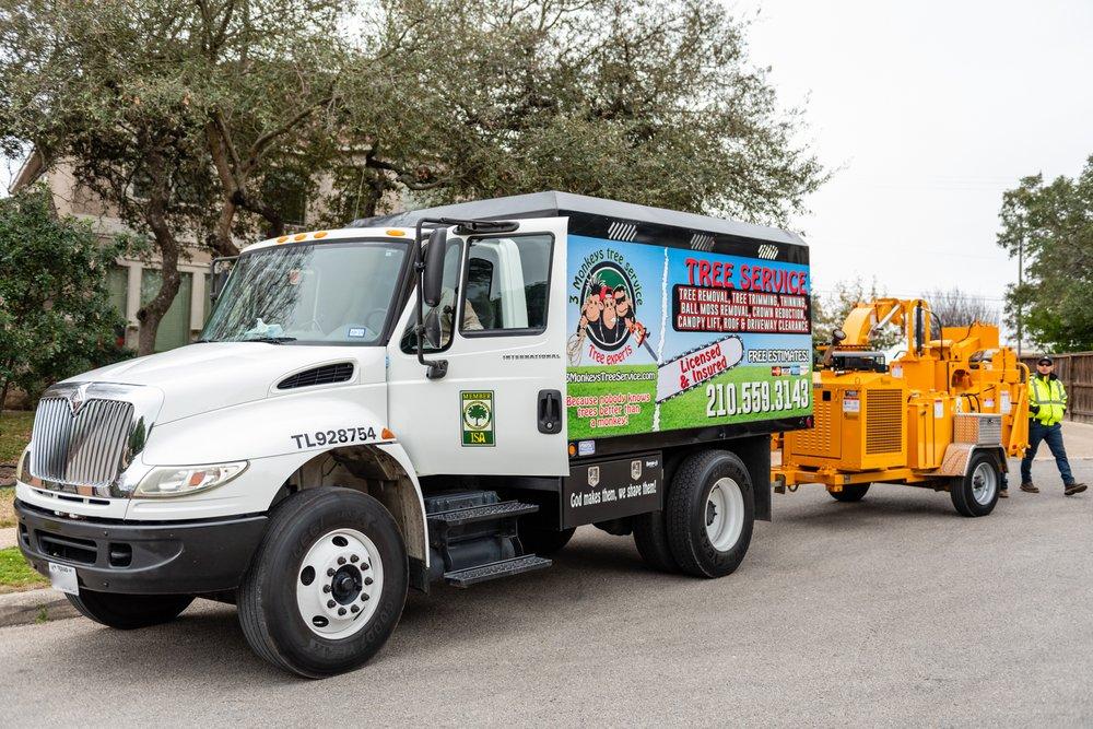3 Monkeys Tree Service: 8223 W Loop 1604 N, San Antonio, TX