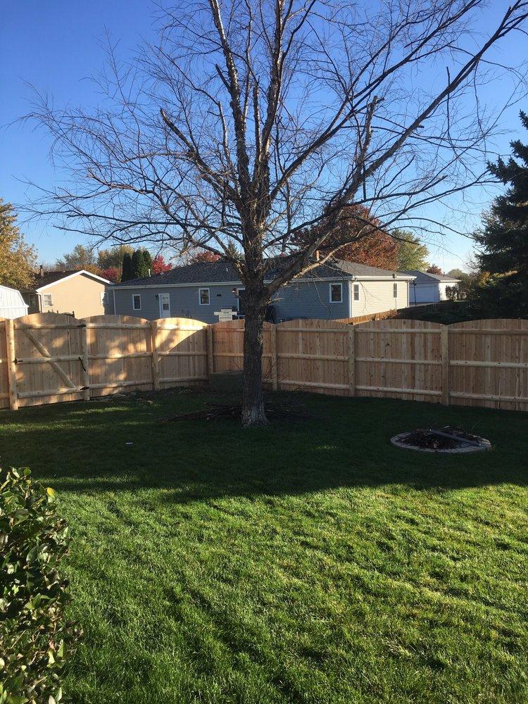 Photos For Cedar Rustic Fence Yelp
