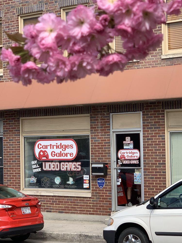 Cartridges Galore Video Games: 68 Pershing St, Cumberland, MD