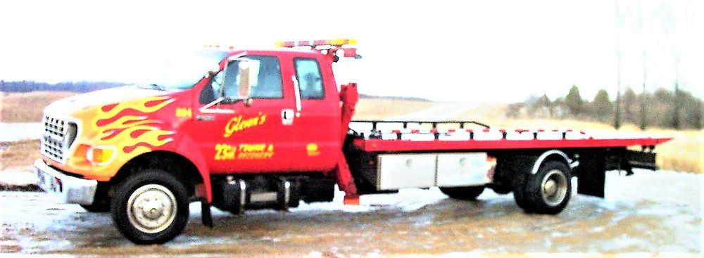 Glenn's Towing & Repair: 5227 Halvorson Rd NW, Garfield, MN