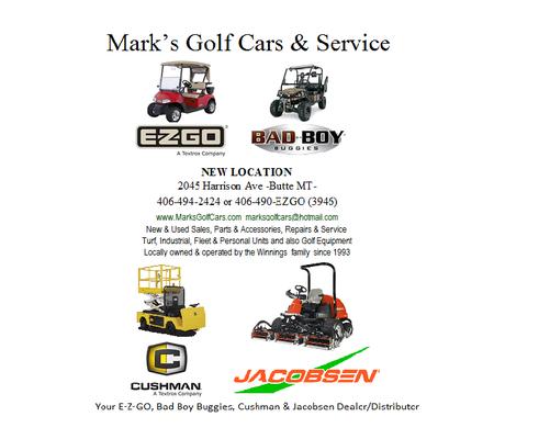 Mark's Golf Cars & Service 2045 Harrison Ave Butte, MT Golf