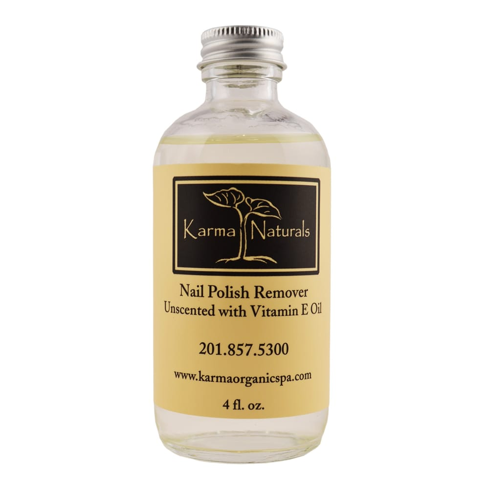 Unscented with vitamin E nail polish remover. - Yelp