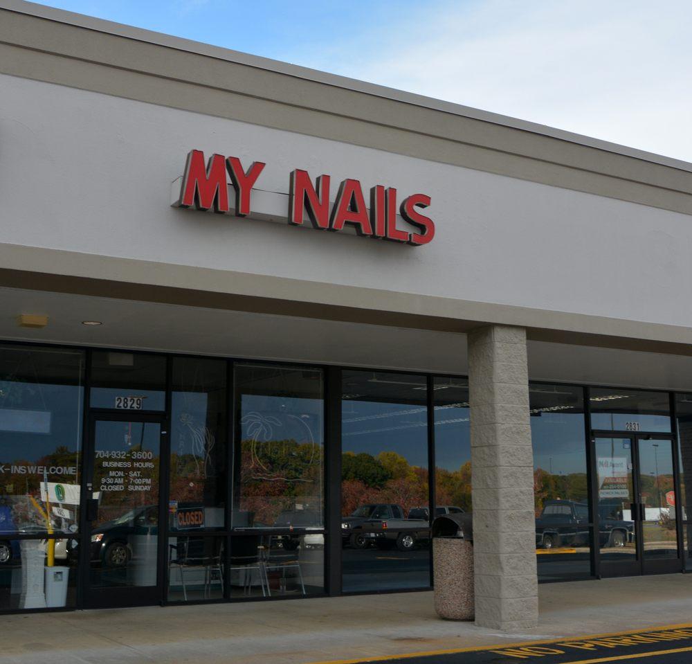 My Nails & Tan: 2829 N Cannon Blvd, Kannapolis, NC