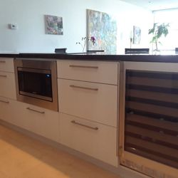 Cabinet Photo of Visions - Miami, FL, United States. Modern Kitchen Cabinet Refacing ...