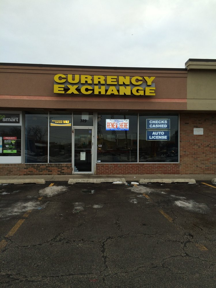 Carol Stream Currency Exchange: 329 S Schmale Rd, Carol Stream, IL