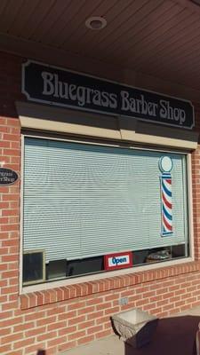 P O Of Bluegrbarber Shop Danville Ky United States Front Of Shop