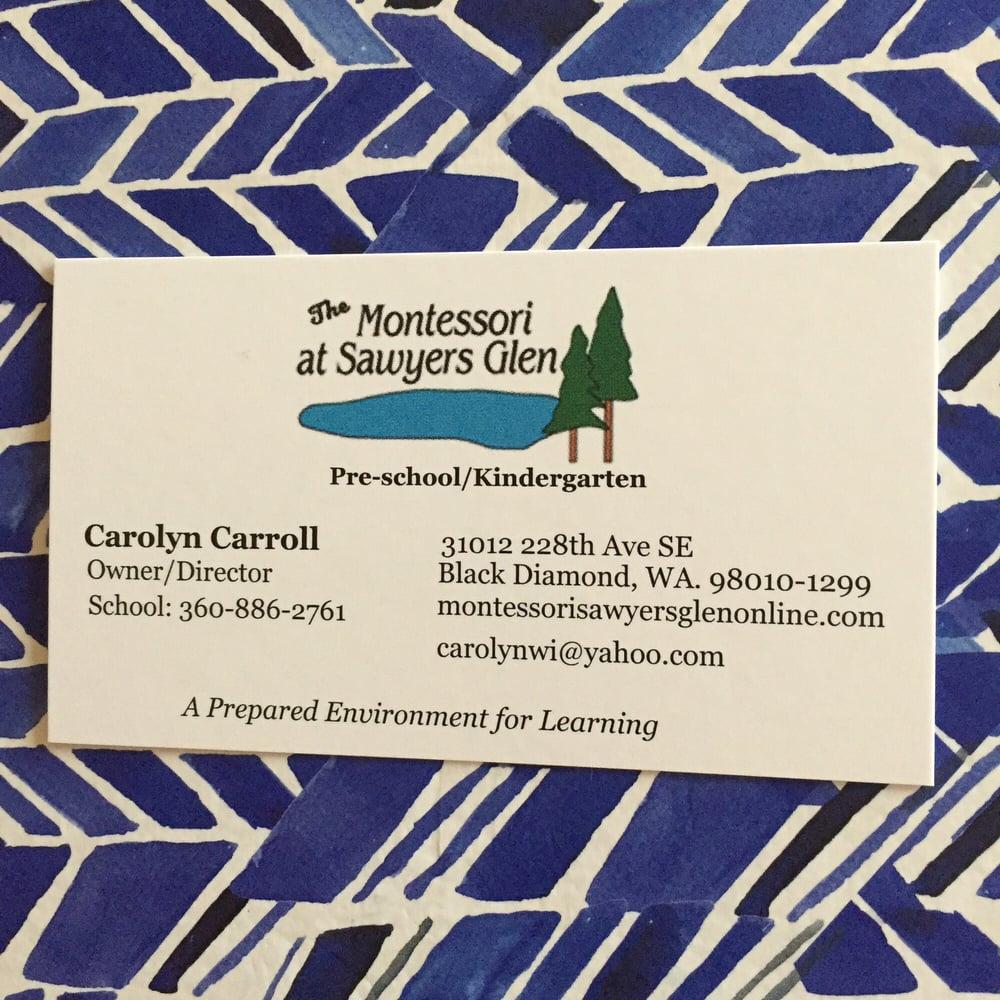 Montessori At Sawyer's Glen: 31012 228th Ave SE, Black Diamond, WA