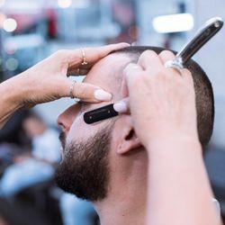 The hook up barber shop