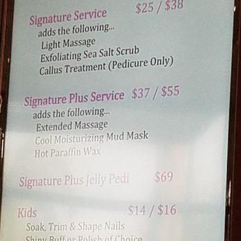 Photo Of FÜma Nail Bar Lakewood Ca United States Menu Preview
