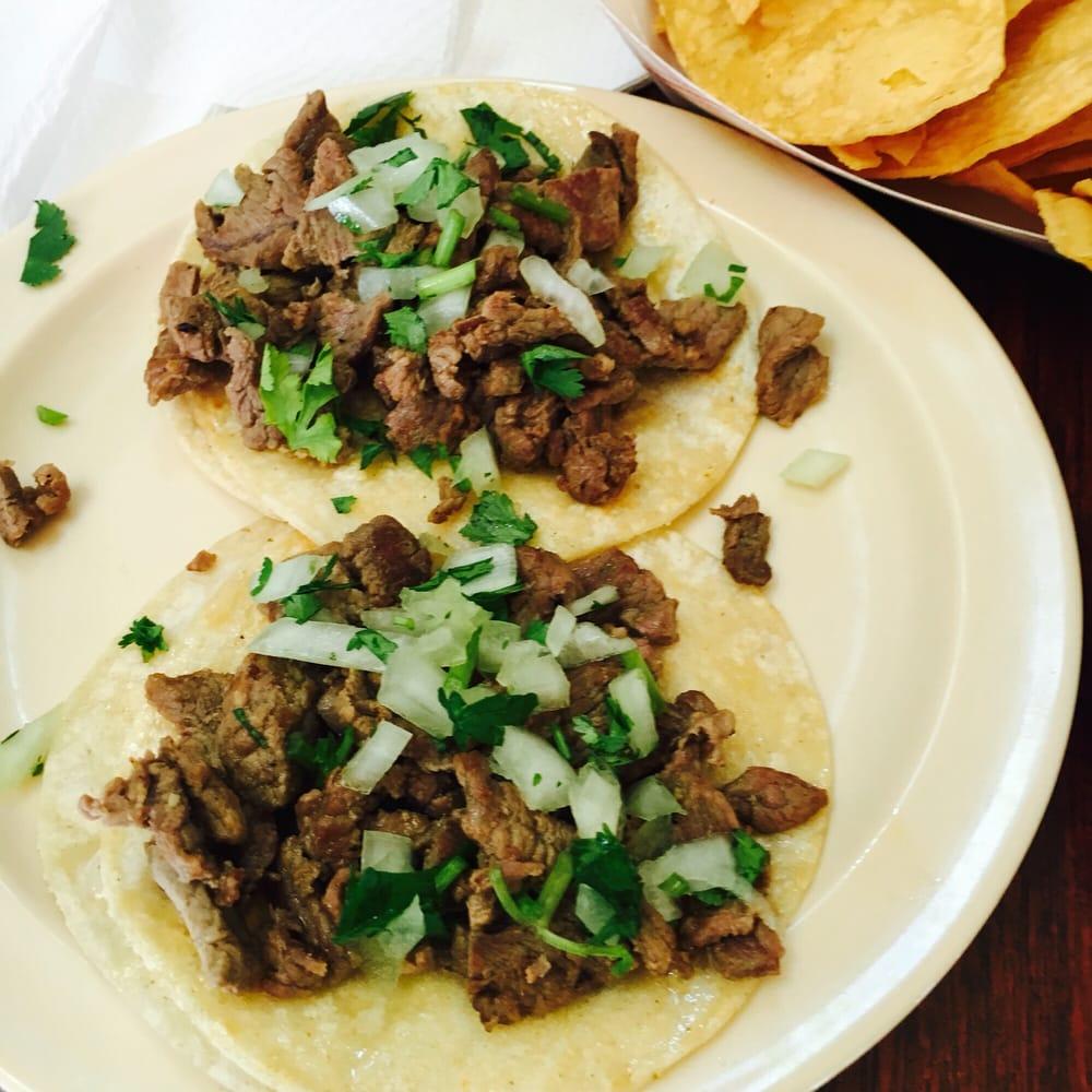 Photo of Jalapeno's Taqueria - South Lake Tahoe, CA, United States. Small carne asada tacos $1.85 each