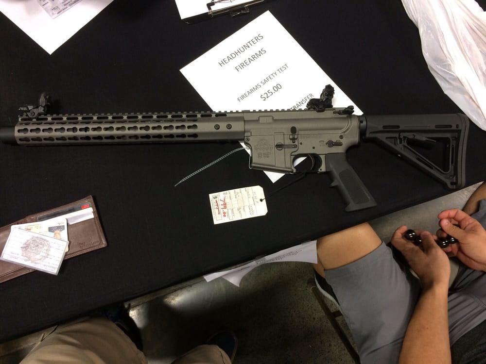 Headhunters Firearms Huntington Beach Ca