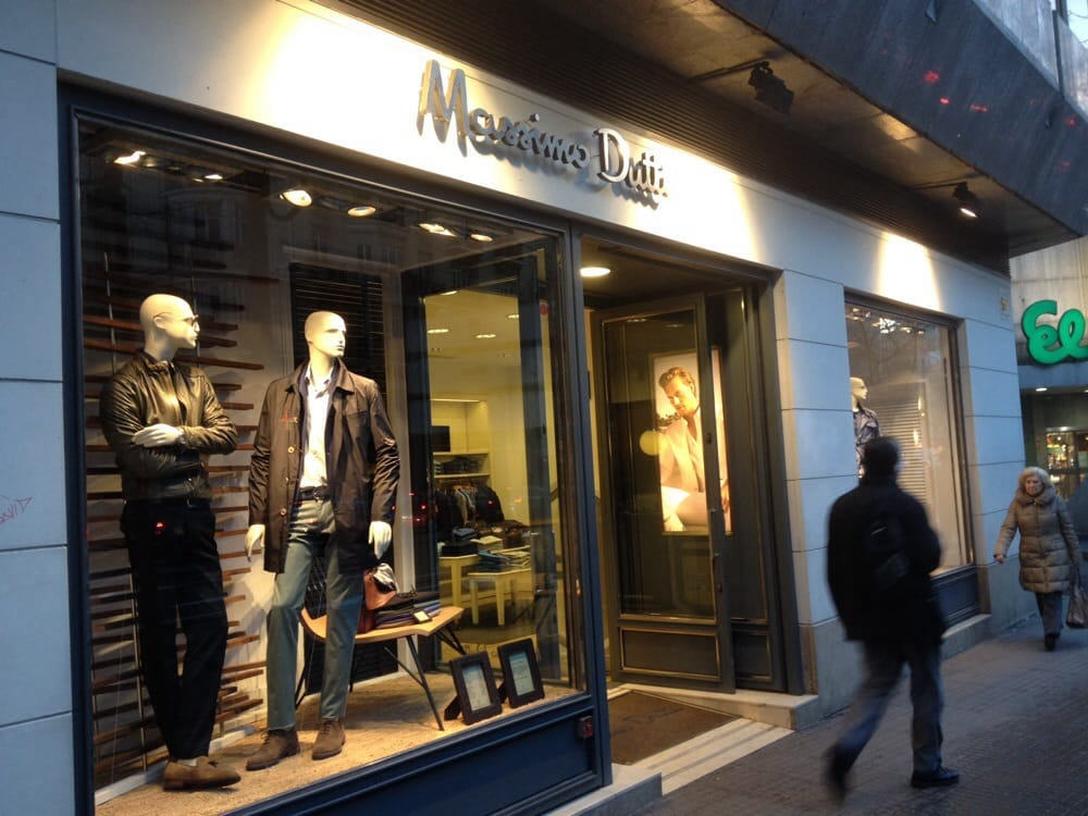 grupo massimo dutti mode calle alberto aguilera 37 universidad madrid spanien. Black Bedroom Furniture Sets. Home Design Ideas