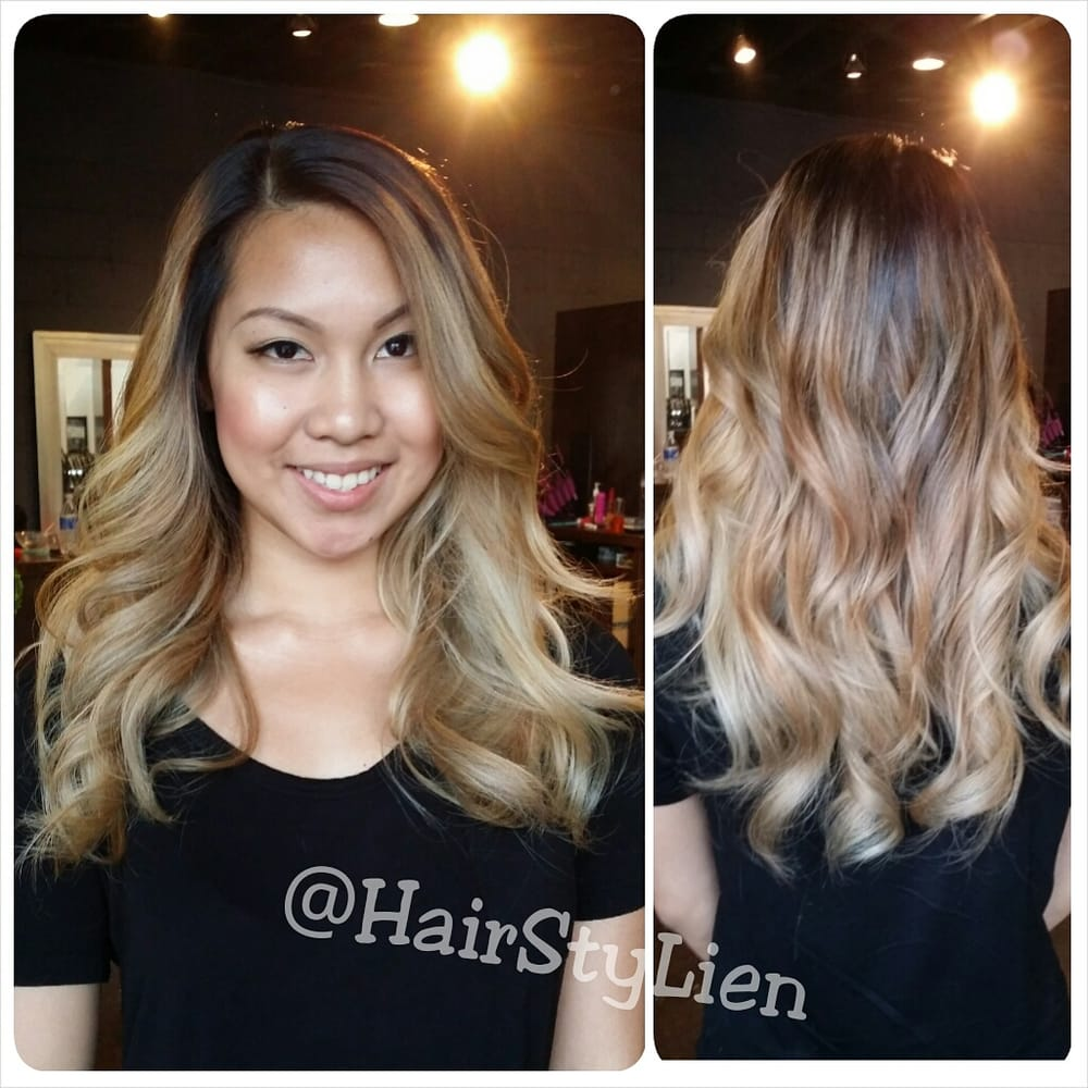 Hair done by lien follow her instagram hairstylien yelp for Salon vizions