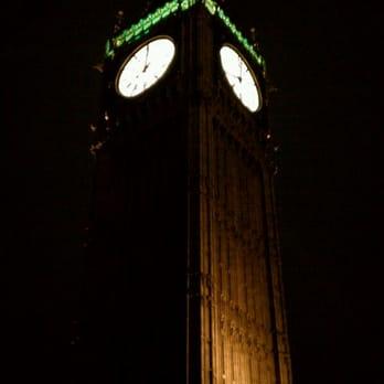 Big Ben At Midnight