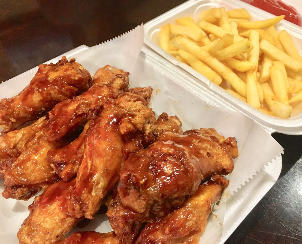 Best Fish and Chicken Wings: 405 E 4th St, Sanford, FL