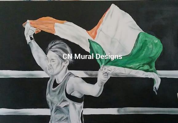 Cn mural designs painters dundalk co louth republic for Cn mural designs