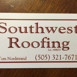 Photo of Southwest Roofing - Albuquerque NM United States. Thomas Nordstrand Owner & Southwest Roofing - Roofing - Westside Albuquerque NM - Phone ... memphite.com