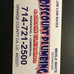 Exceptional Photo Of Discount Plumbing And Drain Cleaning   Garden Grove, CA, United  States