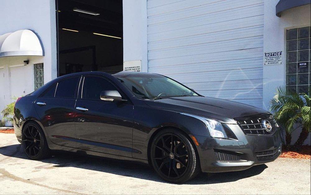 Cadillac Ats Lowered On Eibach Springs Amp 19 Quot Xo Verona