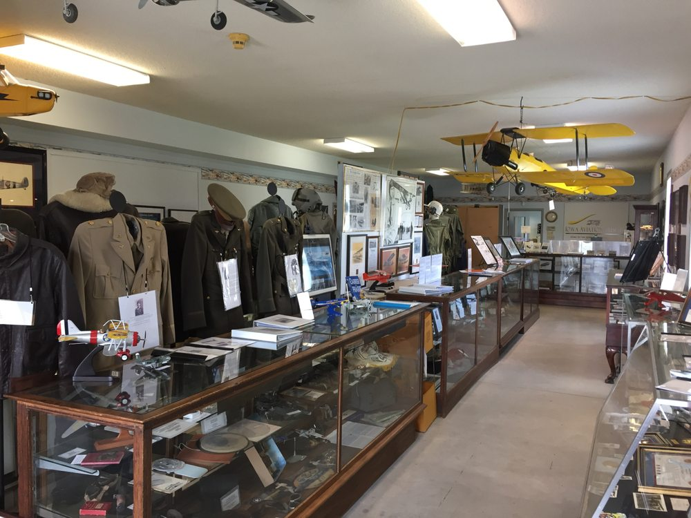 Iowa Aviation Museum: 2251 Airport Rd, Greenfield, IA