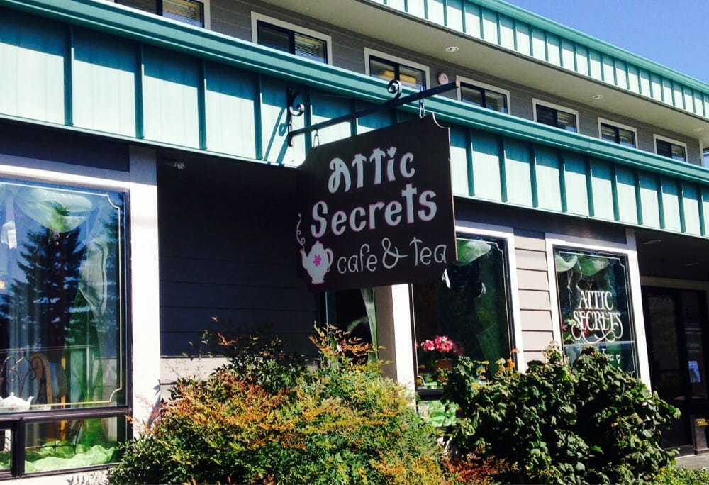 Attic Secrets Tea Room Marysville Wa Attic Tea