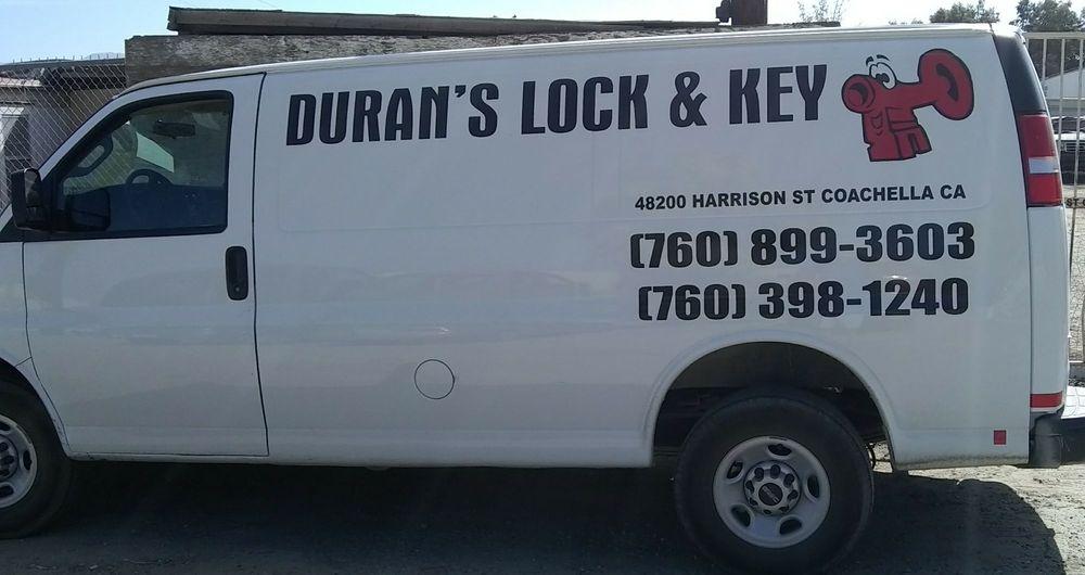 Duran's Lock & Key: 48200 Harrison St, Coachella, CA