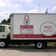 Marvelous Big Red Self Storage