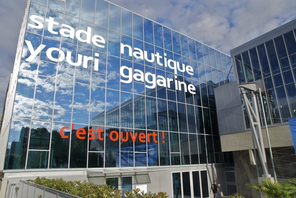 Stade nautique youri gagarine schwimmhalle freibad for Piscine youri gagarine