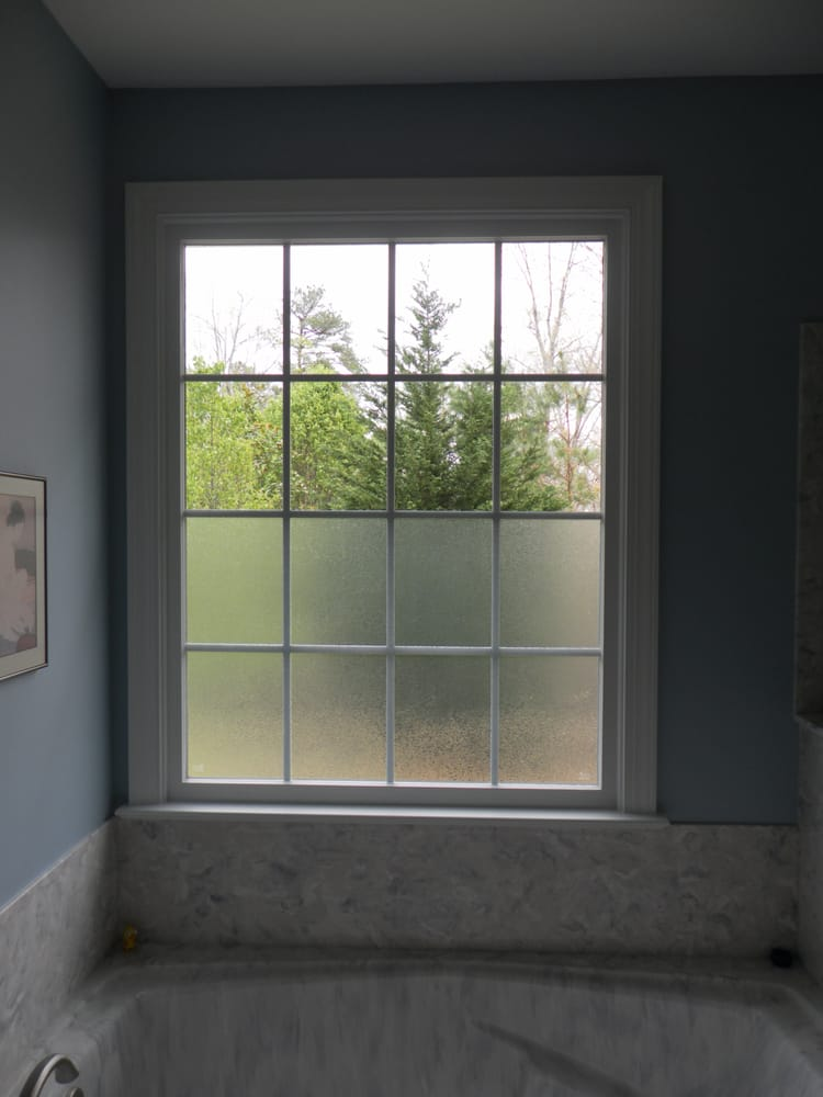 Oslo Window Film Provides Privacy On Bottom Of Bathroom Window Yelp