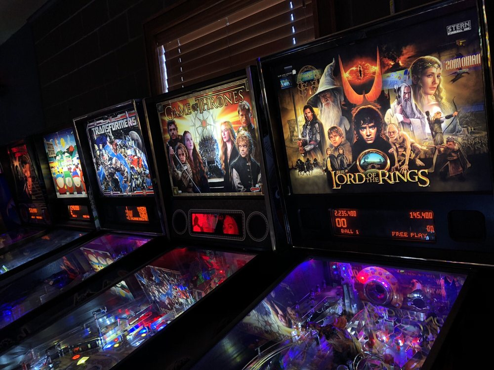 Old School Pinball and Arcade: 209 SE Main St, Grimes, IA