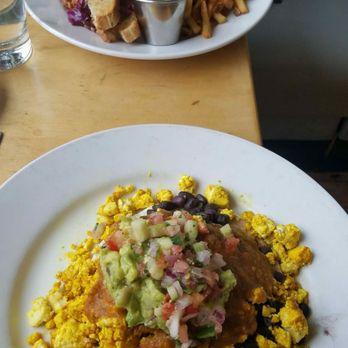 Photo Of Leaf Vegetarian Restaurant Boulder Co United States Ruben Huevos