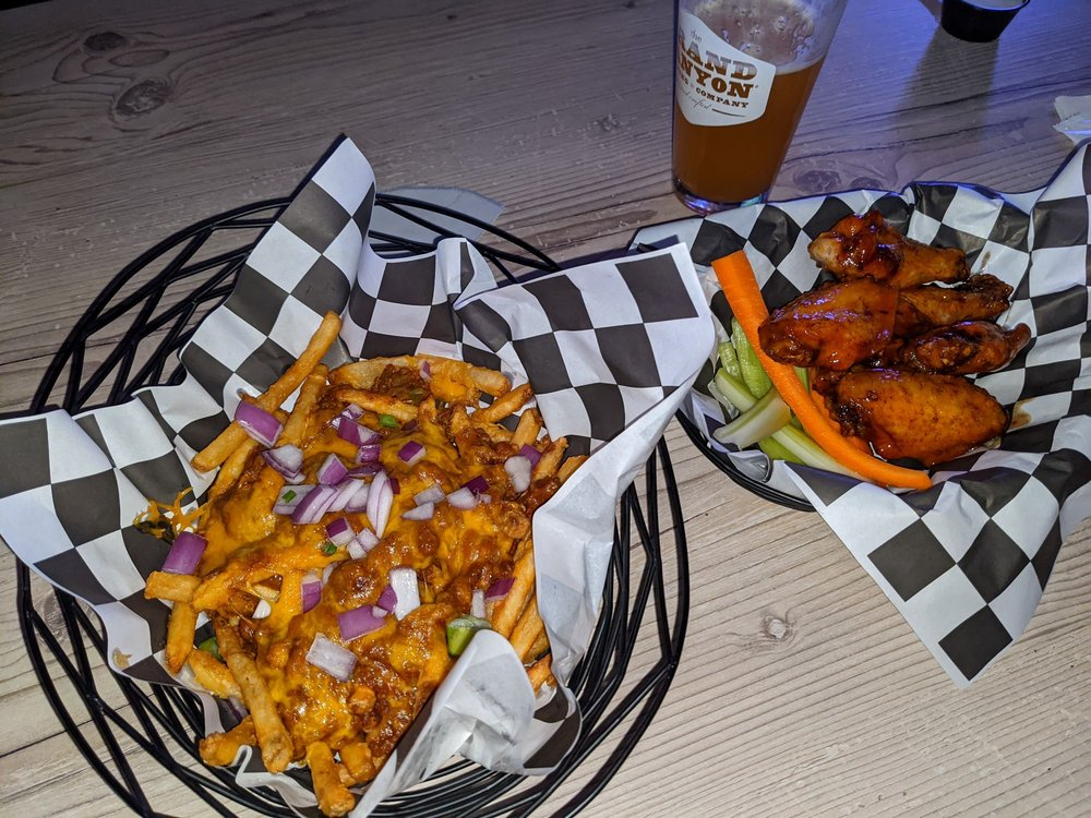 Food from Dirty Birdies Sports Bar & Grill