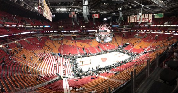 American Airlines Arena 601 Biscayne Blvd Miami Fl