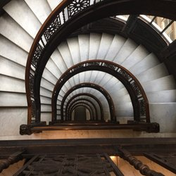 Photo Of The Rookery Building   Chicago, IL, United States. The Staircase!