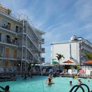 Photo Of Aqua Beach Resort Wildwood Crest Nj United States Pool Area