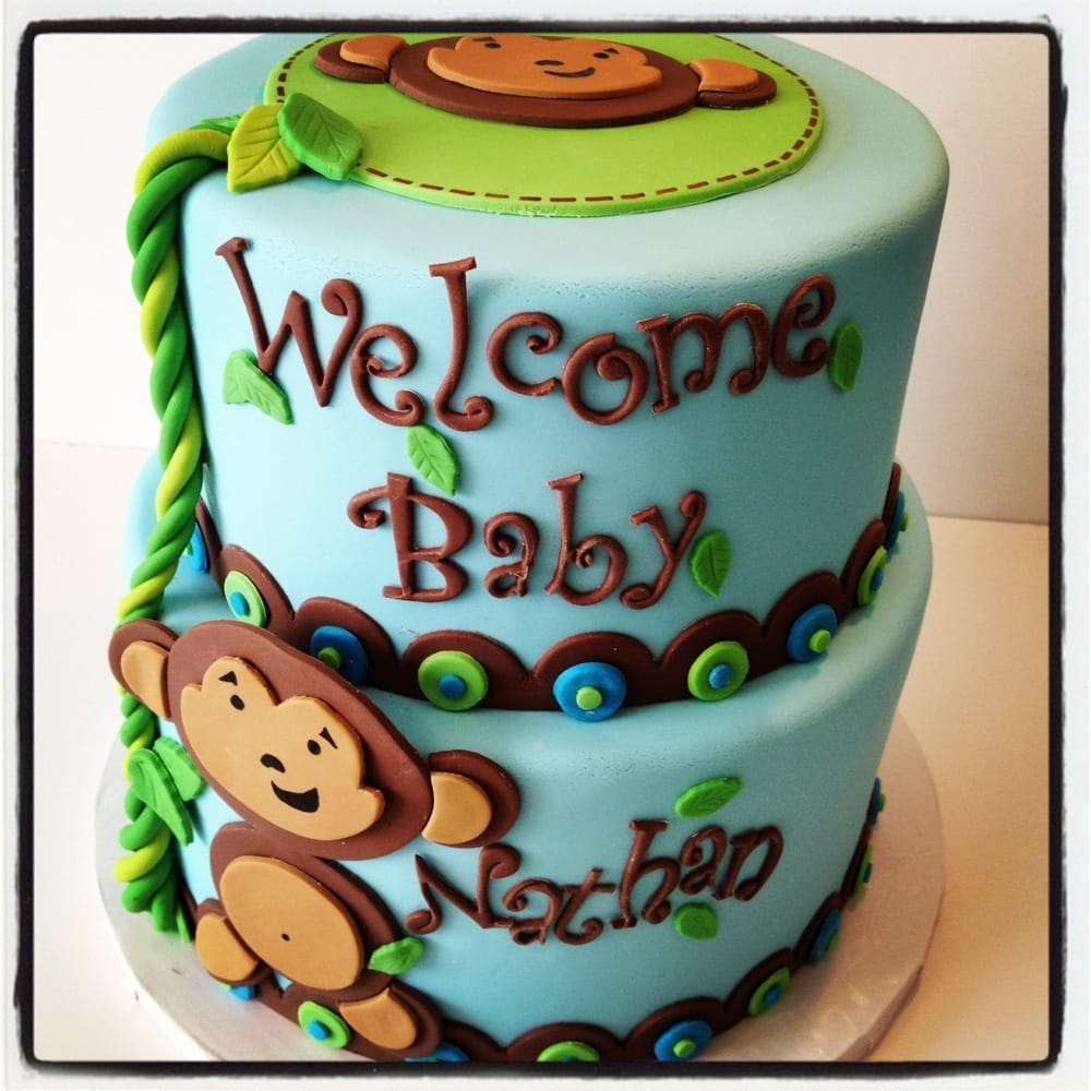 sugar mill cake oakland ca united states monkey baby shower cake