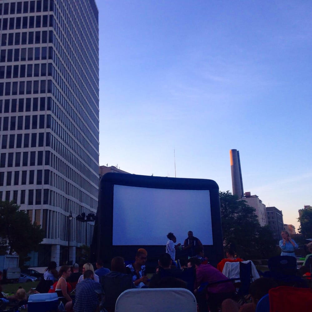 Ready For Movies With A Downtown View Thanks For Organizing