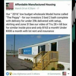 Affordable Manufactured Housing Mobile Home Dealers 505 Avatar