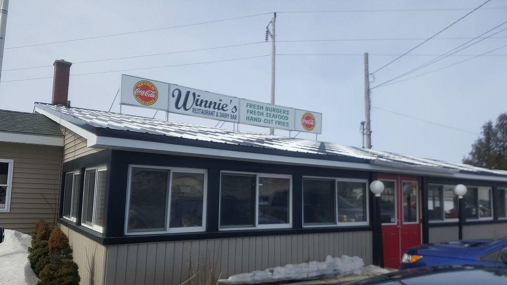 Winnies Restaurant & Dairy Bar: 79 Parsons St, Presque Isle, ME