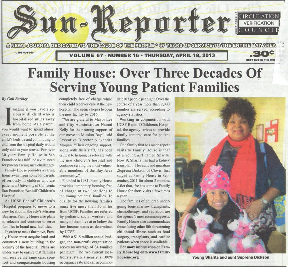 Sun Reporter Newspaper