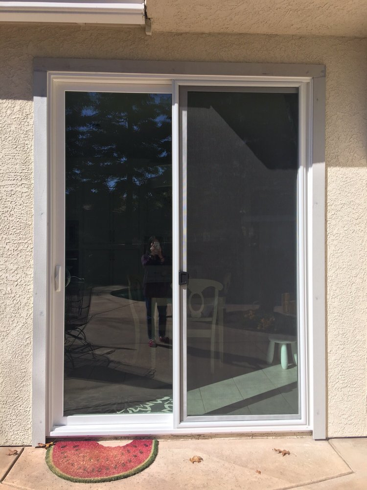 Finished Install Of Milgard Sliding Glass Door Yelp