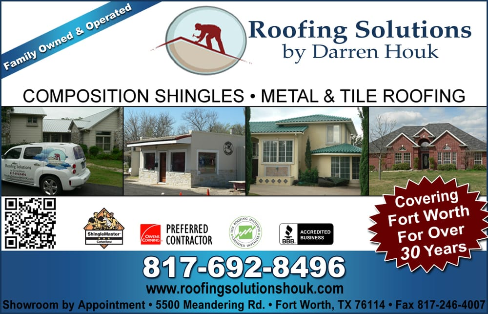 Roofing Solutions By Darren Houk