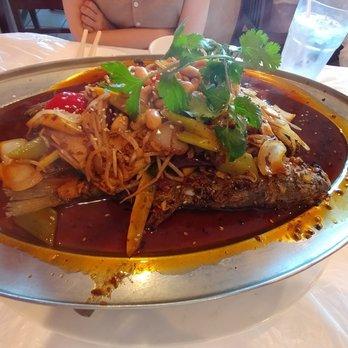 Photo Of Lucky Pot Houston Tx United States Baked Whole Fish