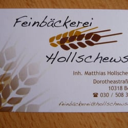 Feinbäckerei Hollschewski 10 Reviews Bakeries