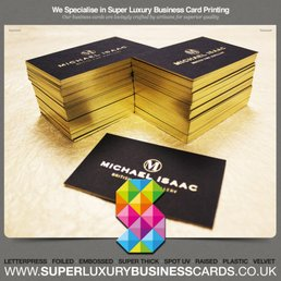 Super luxury business cards get quote 26 photos printing photo of super luxury business cards manchester united kingdom super luxury business cards reheart Images