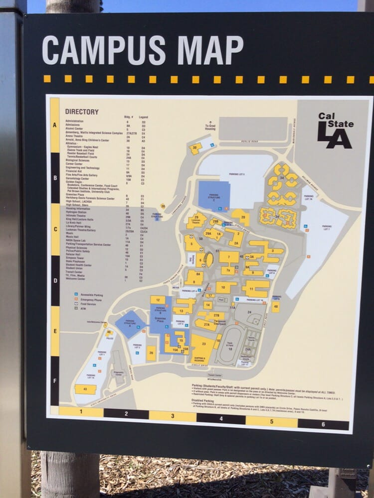 Map of CSULA - Yelp