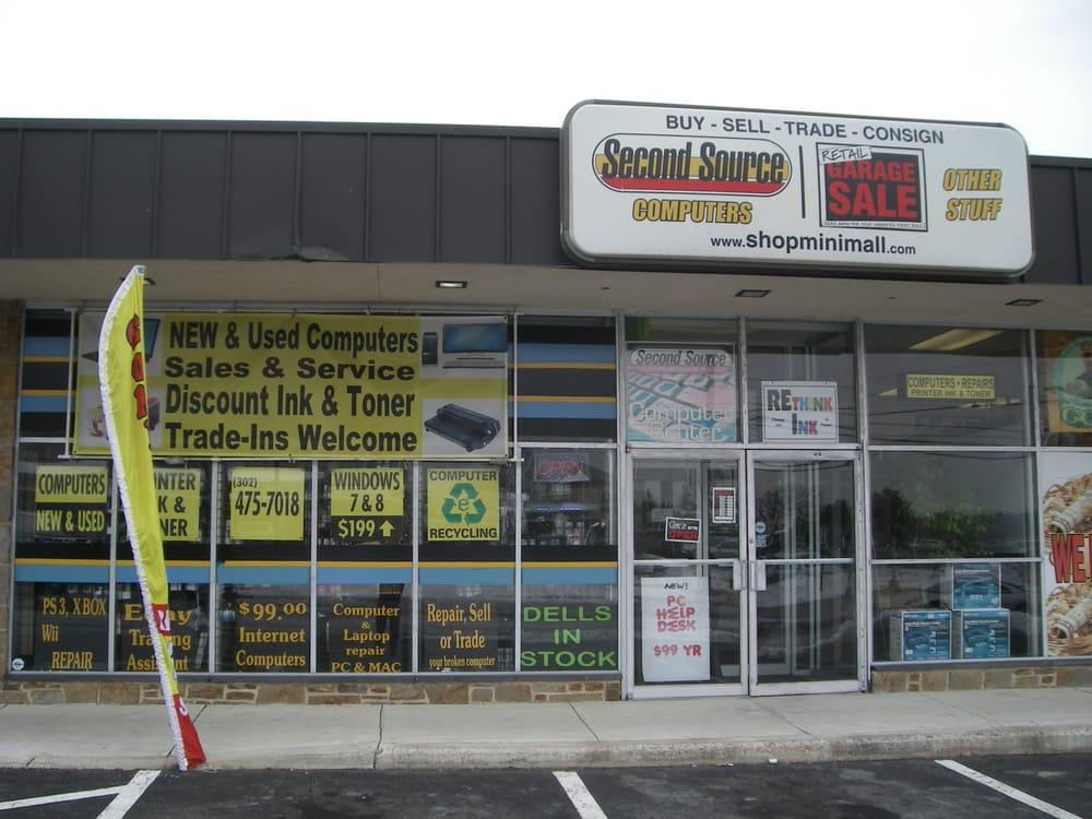 Second Source Computers: 509C Philadelphia Pike, Wilmington, DE